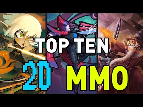 TOP TEN 2D MMO FOR TOASTERS!  LOW SPEC MMO GAMES!