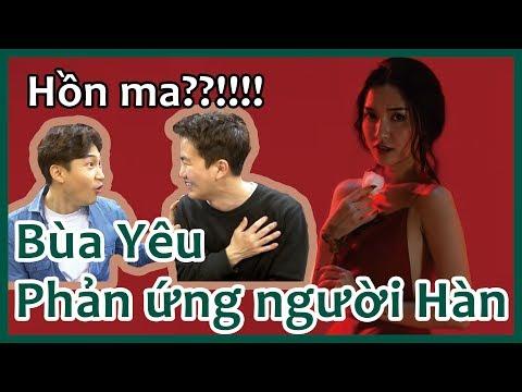 [BÍCH PHƯƠNG - Bùa Yêu] Người Hàn xem MV Việt Nam - VPOP reaction