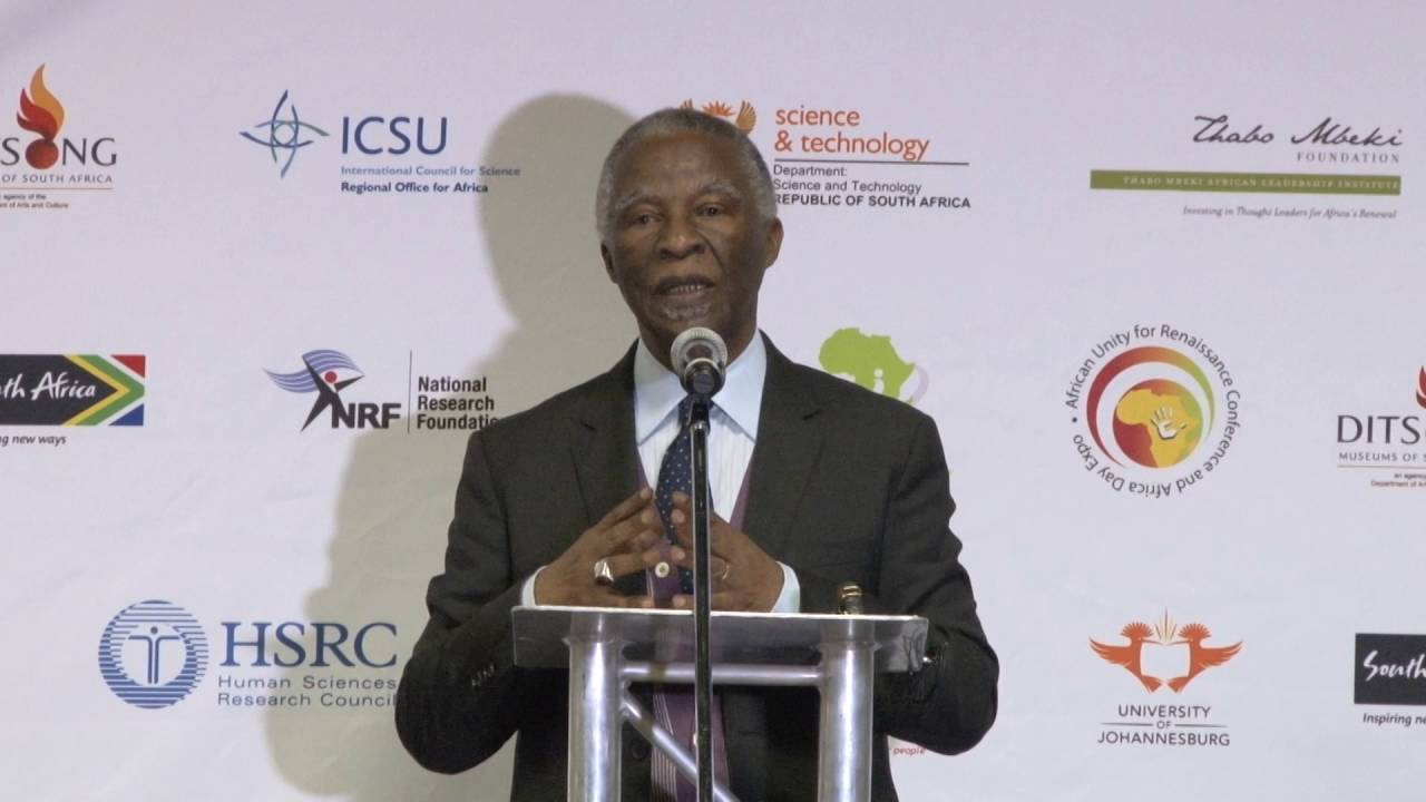 Dr Thabo Mbeki Africa Day ADWA