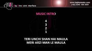 Lift kara de - Video Karaoke - Adnan Sami - by Baji Karaoke