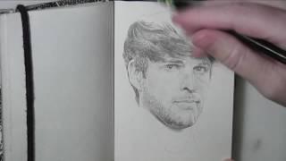 Ian Hecox (Smosh) Time Lapse Drawing