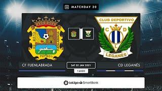 CF Fuenlabrada CD Leganés MD20 S1400