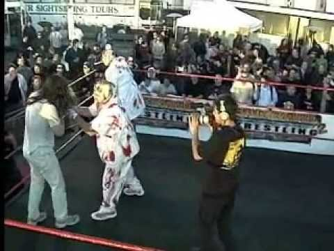 ICP vs Psycho Surgeons Backyard Wrestling - YouTube