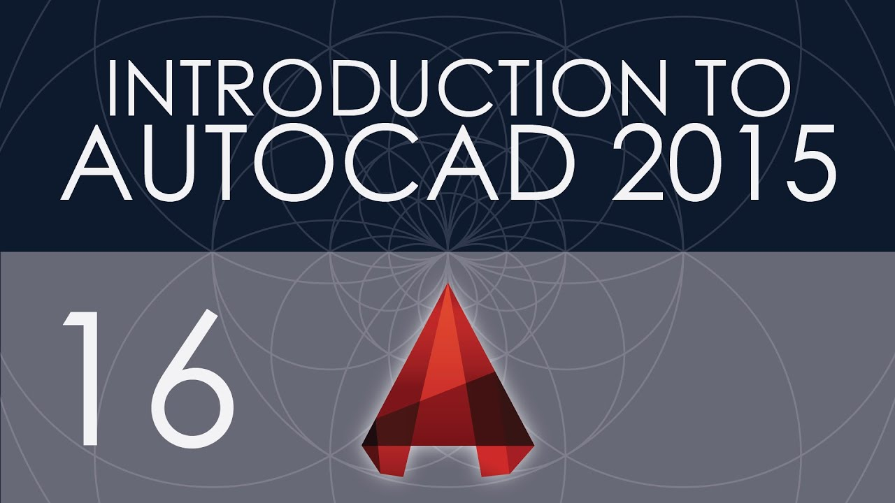 Papercraft Intro to AutoCAD 2015 - 16 - Paper Space