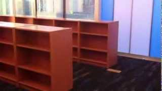Schoolsin Library Bookcase Assembly Service Video In Dc Md Va By Furniture Assembly Experts Llc