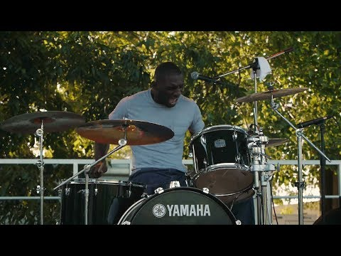 """Cedric Burnside Project """"Let My Baby Ride"""" & Killer Drum Solo. Wow these guys rock."""