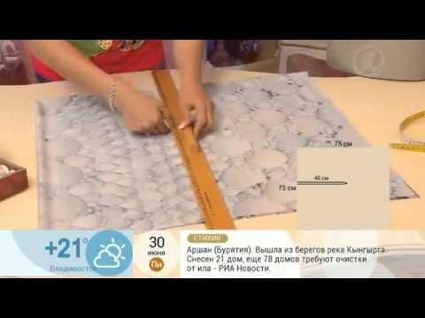 como hacer una blusa facilmente con un cuadrado de tela
