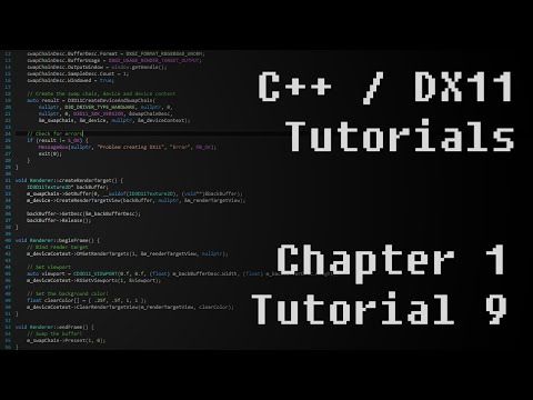 C++ / DirectX11 Tutorials - S01E09 - Memory management