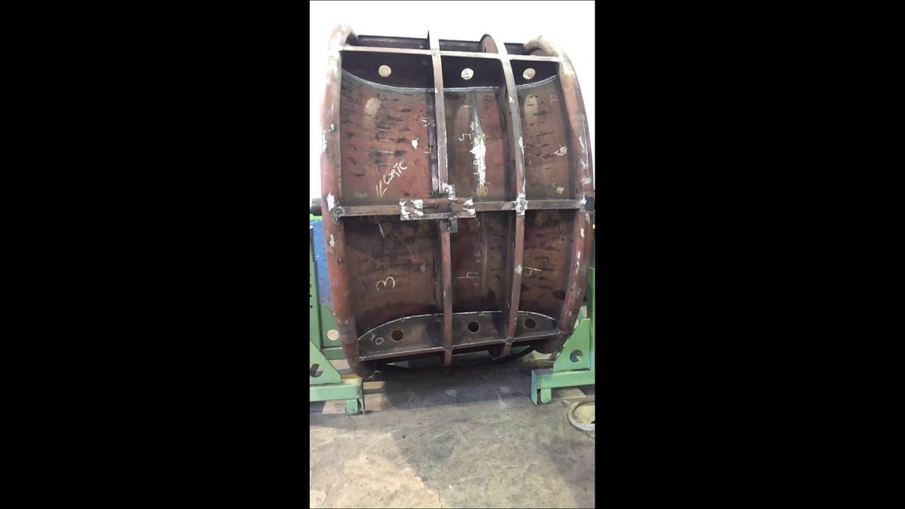 Preparacao para processo de soldagem em Tubo Kort Nozzle