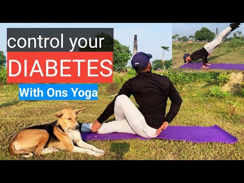DIABETES | SUGAR | YOGA FOR PANCREAS| CONTROL DIABETIC WITH SRD|