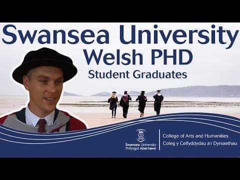 Welsh student graduates with a PHD