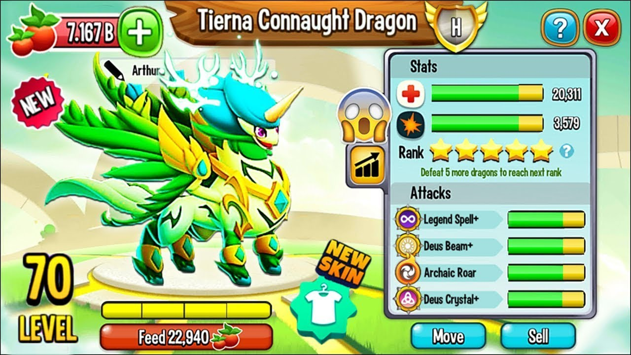 [HOT] Rồng Huyền Thoại Kì Lân Tuần Lộc Cực Hiếm ! || Vũ Liz Dragon City !