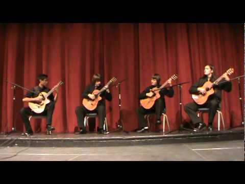 Sr Gtr Quartet Five Brazilian Dances mpg