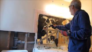 Removing A Bathroom Mirror