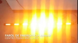 FAROL DE EMERGENCI AMBAR PTTDDL1547