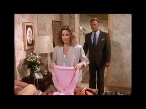 Dallas  Priscilla Presley Jenna Folds Clothes & Packs Suitcase