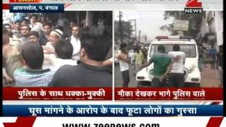 People-Police fight in Asansol