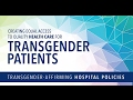 New York Medicaid to Cover More Transgender Services