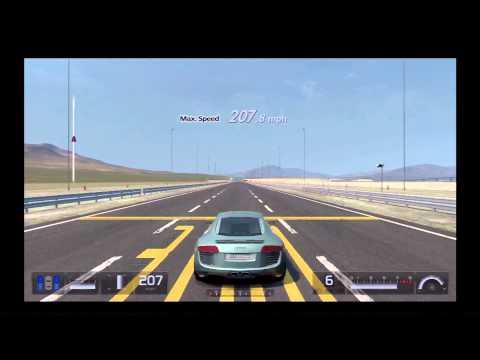 Gran Turismo 5 Speed Test Audi Le Mans Quattro