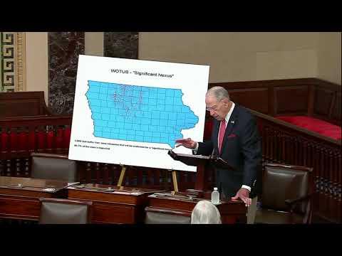 Grassley on Biden WOTUS Rule