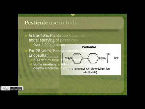 Effect of Pesticides on Human Health and Wellbeing