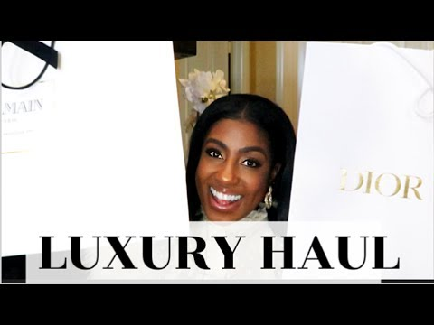 *NEW* LUXURY UNBOXING HAUL| BALMAIN -GUCCI- DIOR | CHIT CHAT |GIFT IDEAS