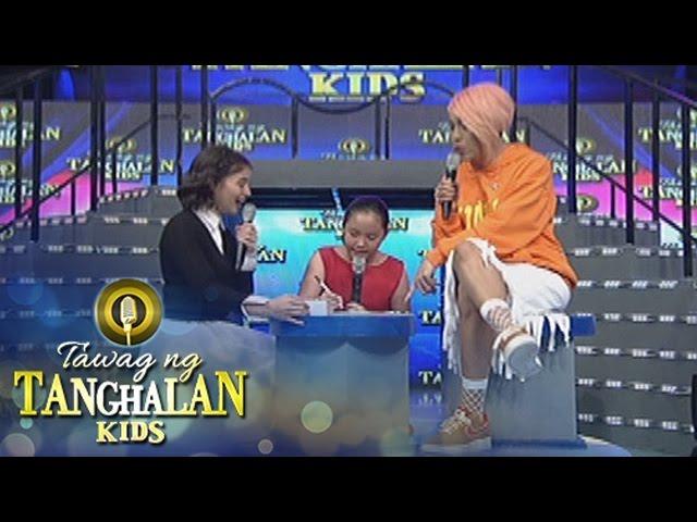 Tawag ng Tanghalan Kids: Maria Kristianna makes a drawing of Vice Ganda