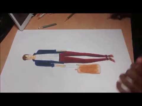 Fashion Illustration: Male outfits