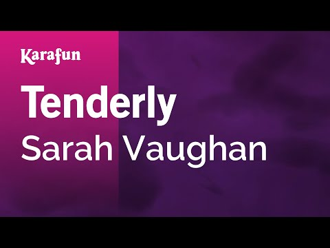 Karaoke Tenderly - Sarah Vaughan *