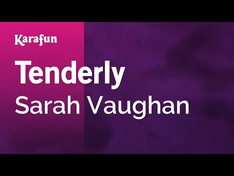 Karaoke Tenderly - Sarah Vaughan *