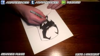 Drawing Marvel's Anti-Venom