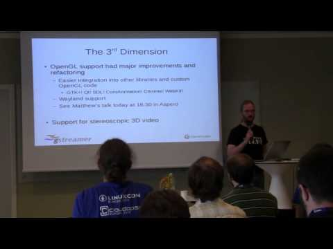 GUADEC 2015: What's new in GStreamer
