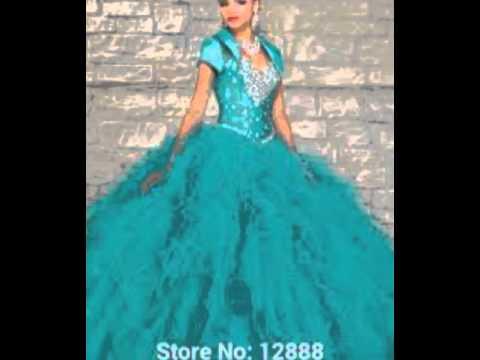 bd6716018e Los 13 vestidos más bonitos para xv años y damas - YouTube