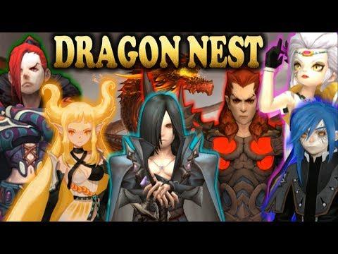DRAGON NEST 🐉 [ALL Raid Nest/Dragon] Up To Lv.95 Now 🐉