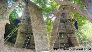 Build three-storey Tree house​ at Jungle