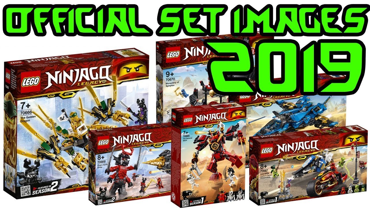 lego 2019 ninjago legacy sets official images released. Black Bedroom Furniture Sets. Home Design Ideas
