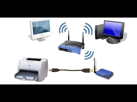 Как установить принтер через wifi