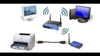 Как подключить принтер через Wi-Fi роутер