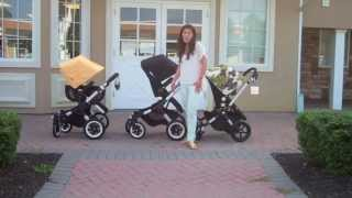 Repeat youtube video Bugaboo Buffalo, Bugaboo Cameleon 3 and the Bugaboo Donkey Comparison