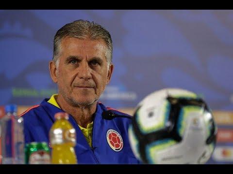 Rueda de prensa Carlos Queiroz, previo al partido de Colombia vs. Venezuela