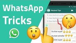 Geheime WhatsApp Tricks, die du noch nicht kennst!