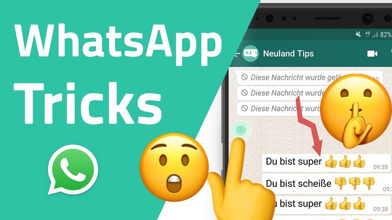 Geheime Whatsapp Tricks Die Du Noch Nicht Kennst Youtube
