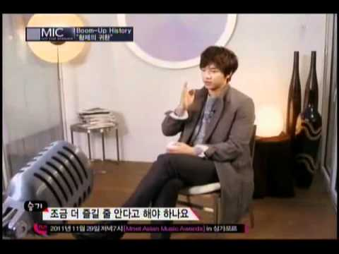 Lee Seung Gi Mnet Mic interview . 111127 . 1/3