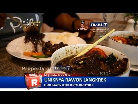 TRANS7 JATIM - Wow!! Rawon Jangkrek Mojokerto