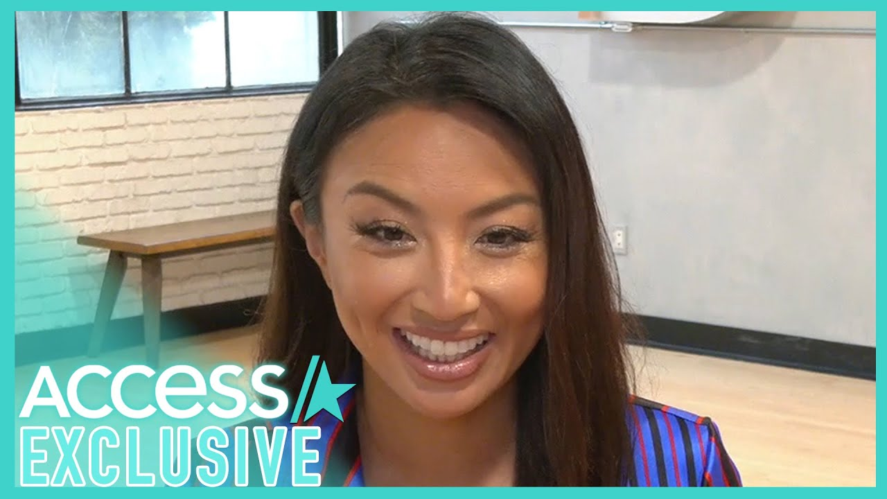 Jeannie Mai Jokes That It's Unfair For Johnny Weir To Be On 'DWTS'