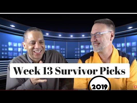NFL Week 13 Survivor Pool Picks