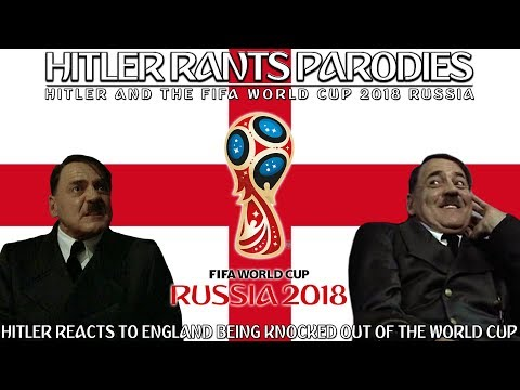 Hitler reacts to England being knocked out of the World Cup