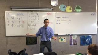 The Distributive Law (1 of 2: Using two approaches to subtract fractions & Multiply Fractions)