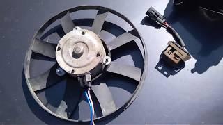 ВаЗ 2107 установка вентилятора с Калины на 2 скорости