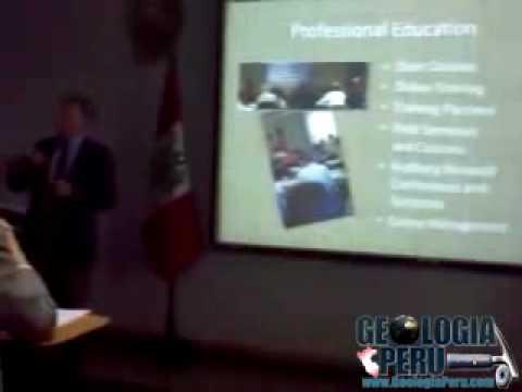 "Visita de la American Association of Petroleum Geologist ""AAPG"" en Lima - Peru v2"